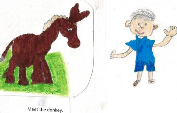 01 donkey first page